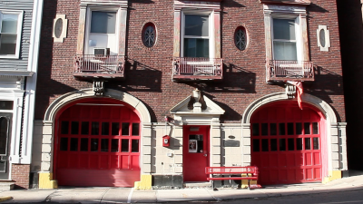 boston, fire, station, oldest, united states