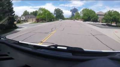 Ride along with South Metro Engine 31 as they respond to a fully engulfed tanker accident on Interstate 25