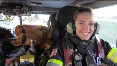 Ride along with Probationary Firefighter Stensvad on her first day as a South Metro Firefighter.